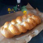 Pan brioche fatto in casa con prosciutto cotto