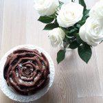 """Torta di cioccolato e nocciole """" Rose Cake"""""""