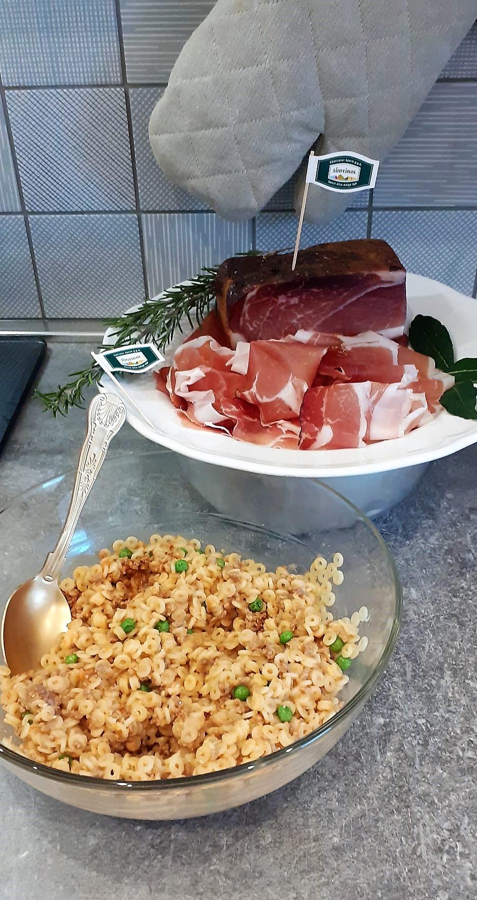 Anelletti di riso al forno con Speck Alto Adige IGP